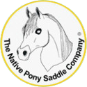 Native Pony Saddle Logo